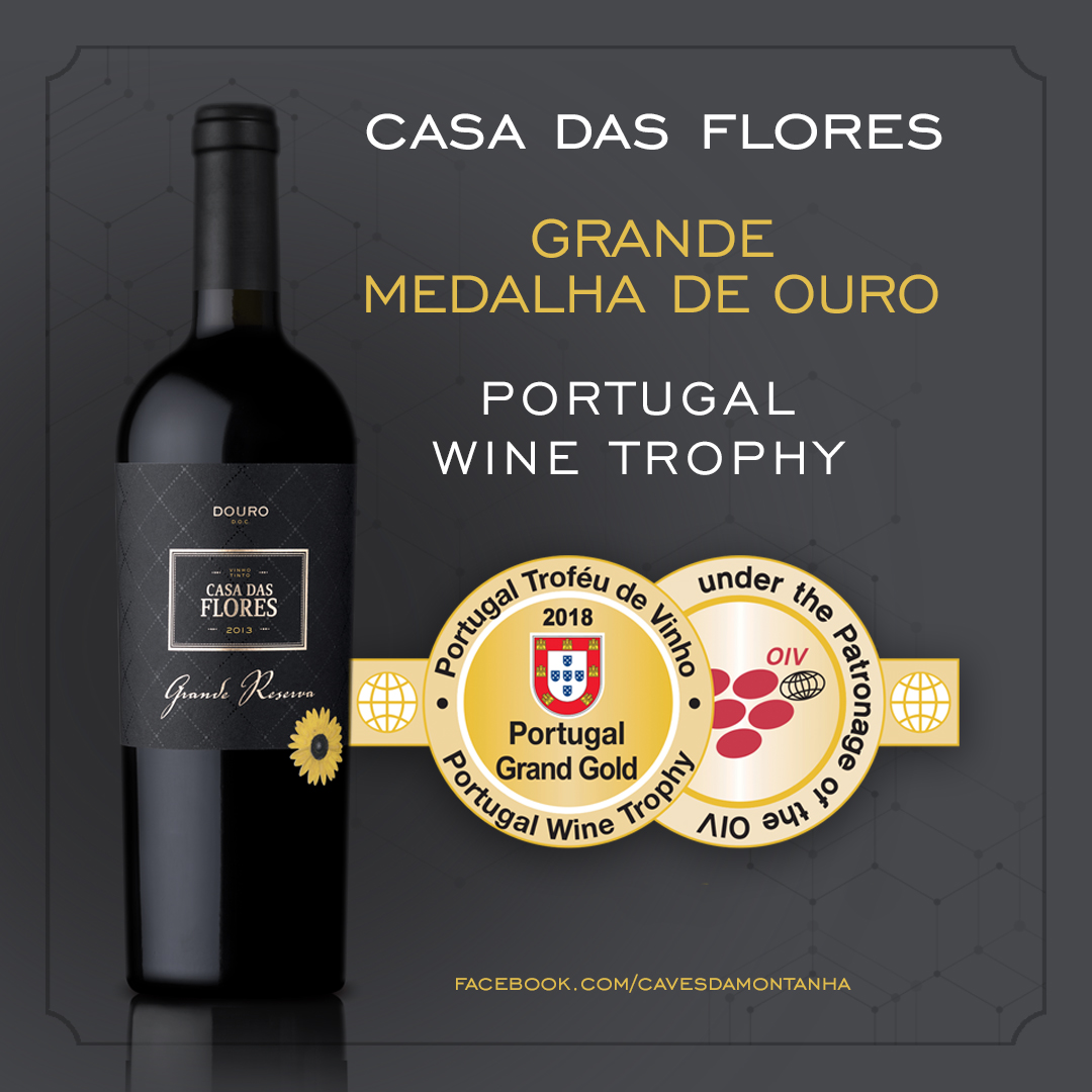 Caves da Montanha vencem Grande Ouro no Portugal Wine Trophy 2018
