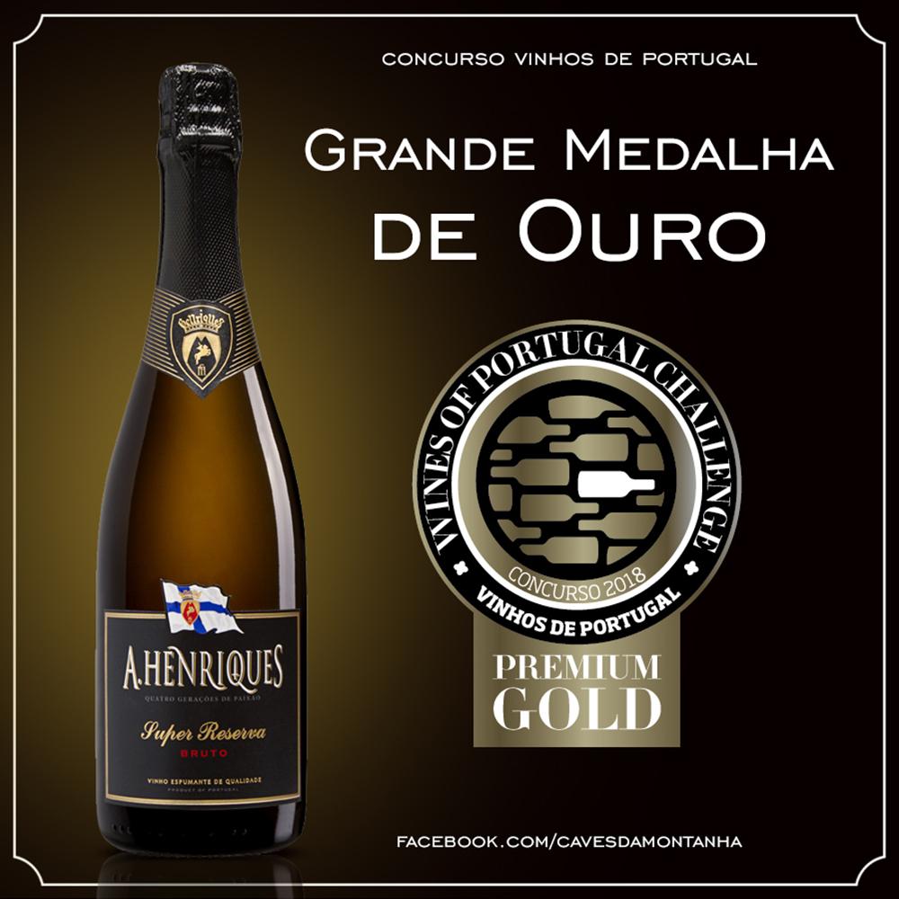 Grande Medalha de Ouro e duas de Prata no concurso Vinhos de Portugal 2018